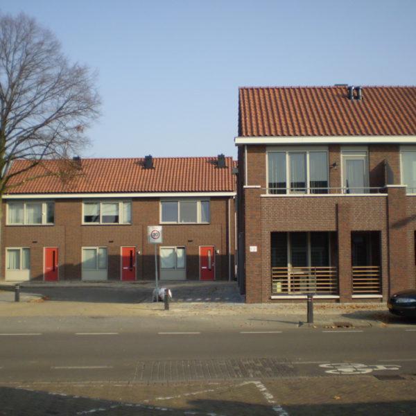 Nieuwbouw 6 grond gebonden woningen en 6 appartementen voor starters te Deurne